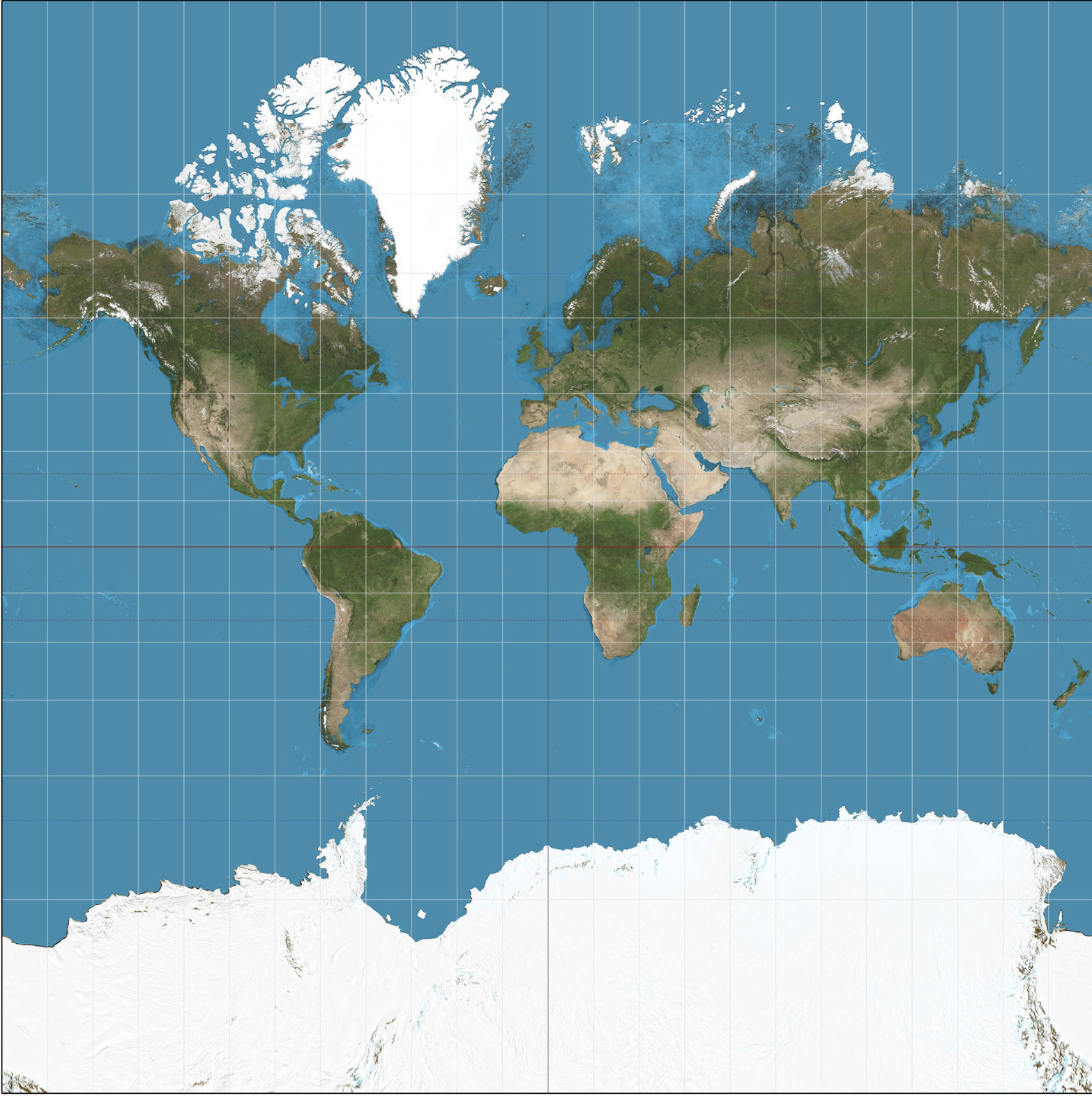 Mercator Distortion